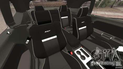 Dodge Challenger SRT8 392 2012 Police [ELS][EPM] для GTA 4 вид изнутри