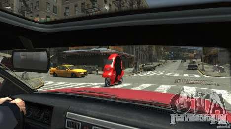 BMW C1 для GTA 4 вид сзади слева