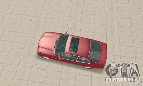 BMW 325i Coupe для GTA San Andreas вид сзади слева