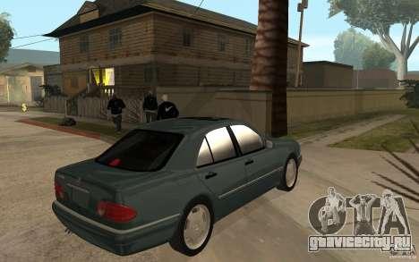 Mercedes-Benz E420 W210 1997 для GTA San Andreas вид справа