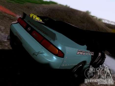 Nissan Silvia S14 Matt Powers v4 2012 для GTA San Andreas вид сзади слева