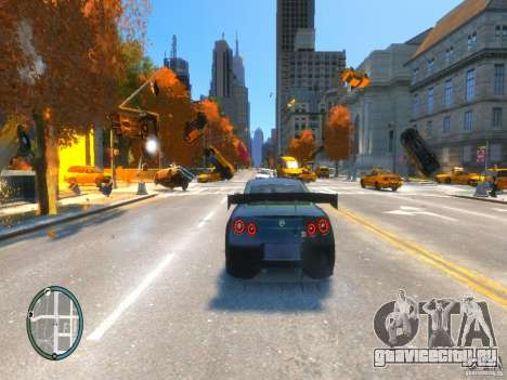 Телекинез / Telekinesis для GTA 4
