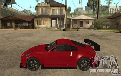 Nissan 350Z Supreme для GTA San Andreas вид слева