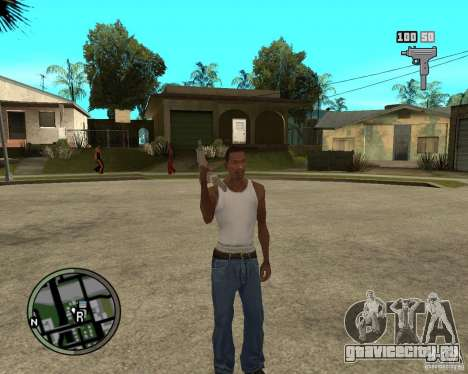 GTA IV HUD для GTA San Andreas второй скриншот