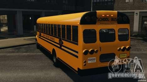 School Bus v1.5 для GTA 4 вид сзади слева