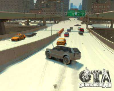 Гололёд для GTA 4 второй скриншот