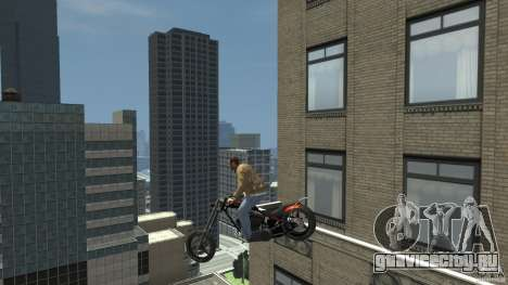 The Lost and Damned Bikes Diabolus для GTA 4 вид сзади