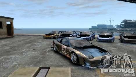 Nissan 240sx для GTA 4 вид справа