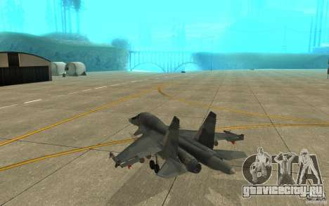 Су-34 для GTA San Andreas вид справа
