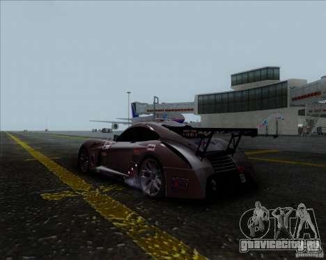 Panoz Abruzzi Le Mans V1.0 2011 для GTA San Andreas вид слева