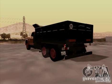 Dodge Dumper для GTA San Andreas вид справа