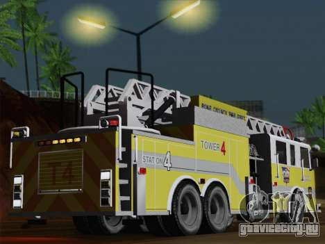 Pierce Arrow XT BCFD Tower Ladder 4 для GTA San Andreas