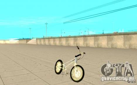 Trail Bike Chrome для GTA San Andreas