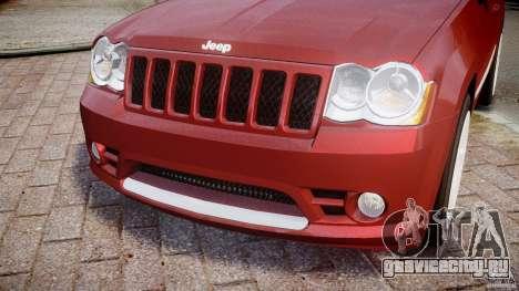 Jeep Grand Cherokee для GTA 4 вид сбоку