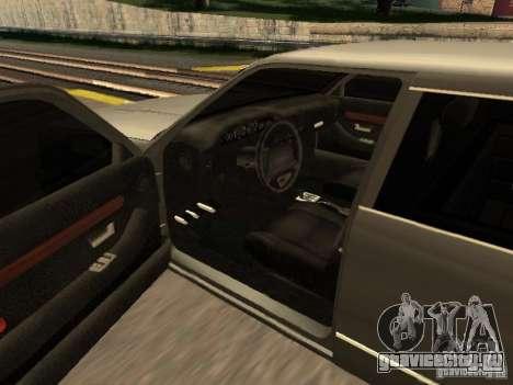 HD Stretch для GTA San Andreas вид сзади слева