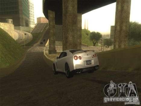 ENB v1 by Tinrion для GTA San Andreas четвёртый скриншот
