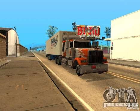 Western Star 4900EX v 0.1 для GTA San Andreas вид слева