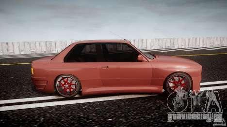BMW E30 v8 для GTA 4 вид изнутри
