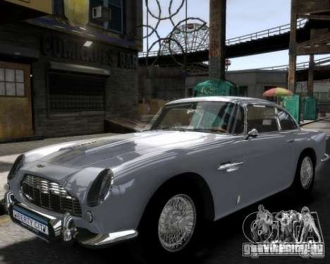 Aston Martin DB5 Vantage BETA для GTA 4