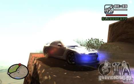 ENBSeries By Gasilovo для GTA San Andreas четвёртый скриншот