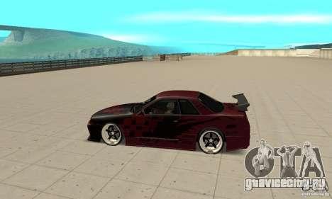 Nissan Skyline R32 Drift Edition для GTA San Andreas вид слева