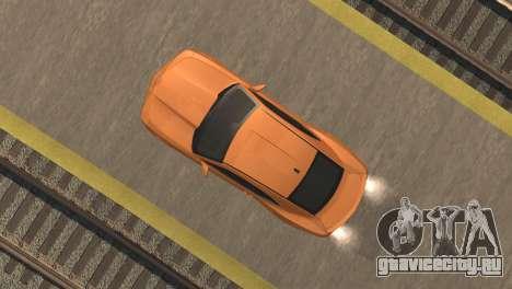 Chevrolet Camaro SS 2010 v2.0 Final для GTA San Andreas вид сзади