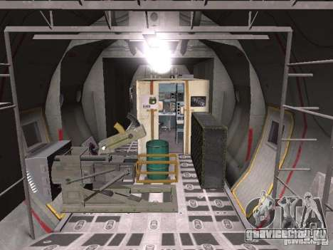 AC-130 Spooky II для GTA San Andreas вид сзади