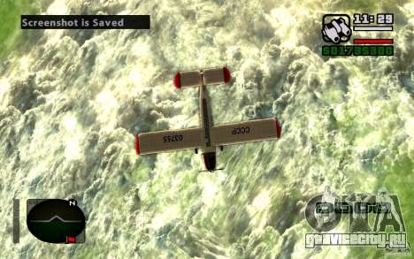 АН-2 для GTA San Andreas вид сзади