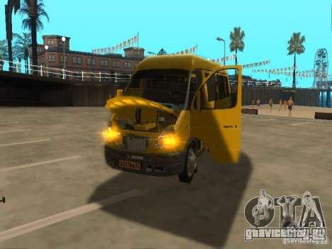 ГАЗель 2705 маршрутное такси для GTA San Andreas вид справа