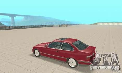 BMW 325i Coupe для GTA San Andreas вид справа