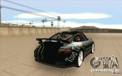 Porsche 997 Rally Edition для GTA San Andreas вид сбоку