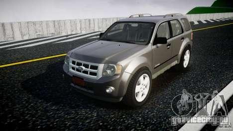 Ford Escape 2011 Hybrid Civilian Version v1.0 для GTA 4