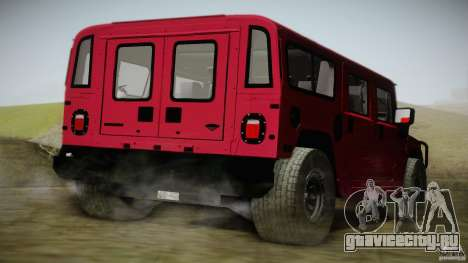 Hummer H1 Alpha Off Road Edition для GTA San Andreas вид слева