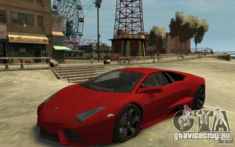 Lamborghini Reventon Coupe для GTA 4