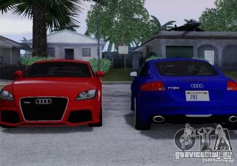 Audi TT-RS Coupe для GTA San Andreas салон