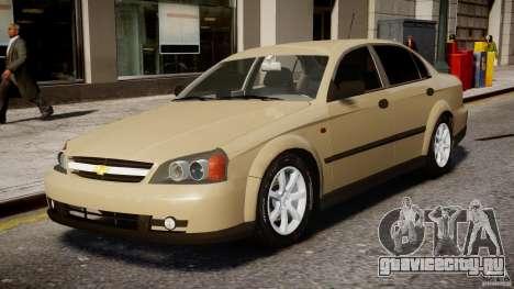 Chevrolet Evanda для GTA 4 вид слева