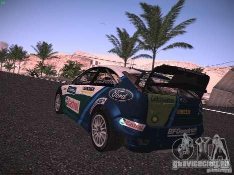 Ford Focus RS WRC 2006 для GTA San Andreas вид слева