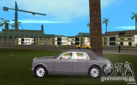 Rolls Royce Phantom для GTA Vice City вид слева