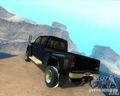 GMC Topkick C4500 2008 для GTA San Andreas вид сзади слева