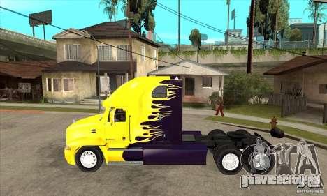 Mack для GTA San Andreas вид сзади слева