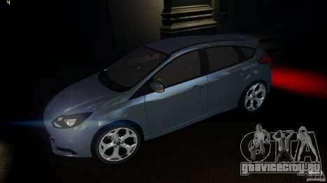 Ford Focus 3 ST для GTA 4 вид слева