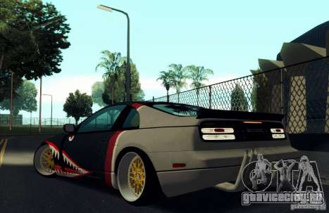Nissan 300ZX Bad Shark для GTA San Andreas двигатель