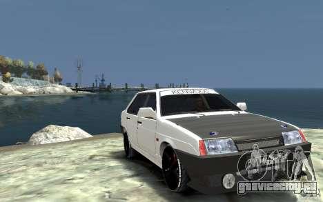 ВАЗ 21099 для GTA 4 вид сзади