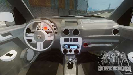 Volkswagen Gol G4 Rallye для GTA 4 вид справа