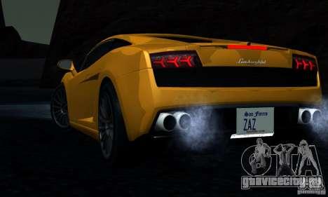 Lamborghini Gallardo LP560-4 для GTA San Andreas вид сбоку