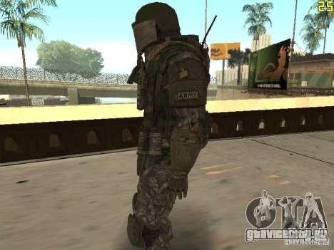 Боевой солдат из CoD:Mw2 для GTA San Andreas второй скриншот