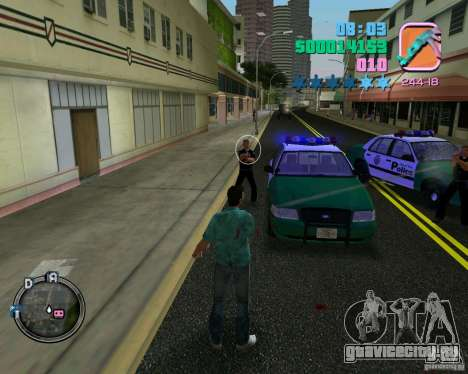 Новая одежда копов для GTA Vice City шестой скриншот
