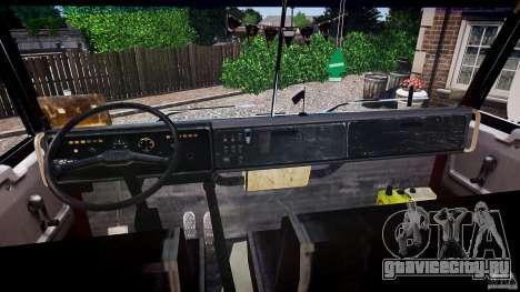 КамАЗ 5410 для GTA 4 вид сверху