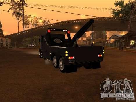 Scania 112H Gruas Fenix для GTA San Andreas вид сзади слева
