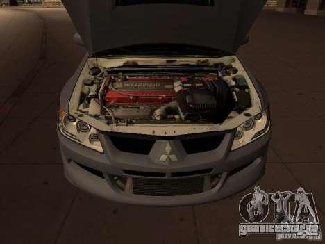 Mitsubishi Lancer Evolution 8 для GTA San Andreas вид справа